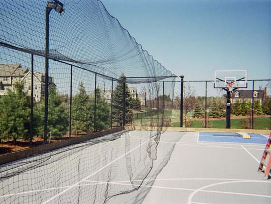 Sport court building tips sport court of massachusetts for How to build a sport court