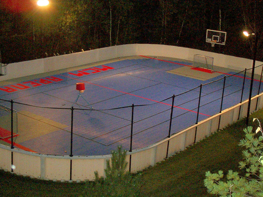 RollerSports And Hockey Courts Sport Court Of Massachusetts - Backyard roller hockey rink
