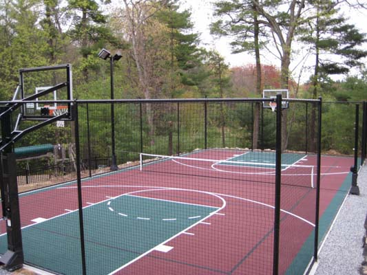New Home Sport Court Of Massachusetts