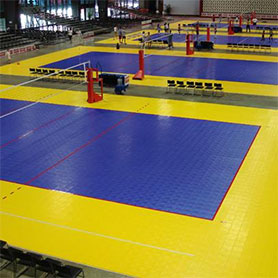Volleyball Court Installation | Indoor & Outdoor Volleyball Courts ...