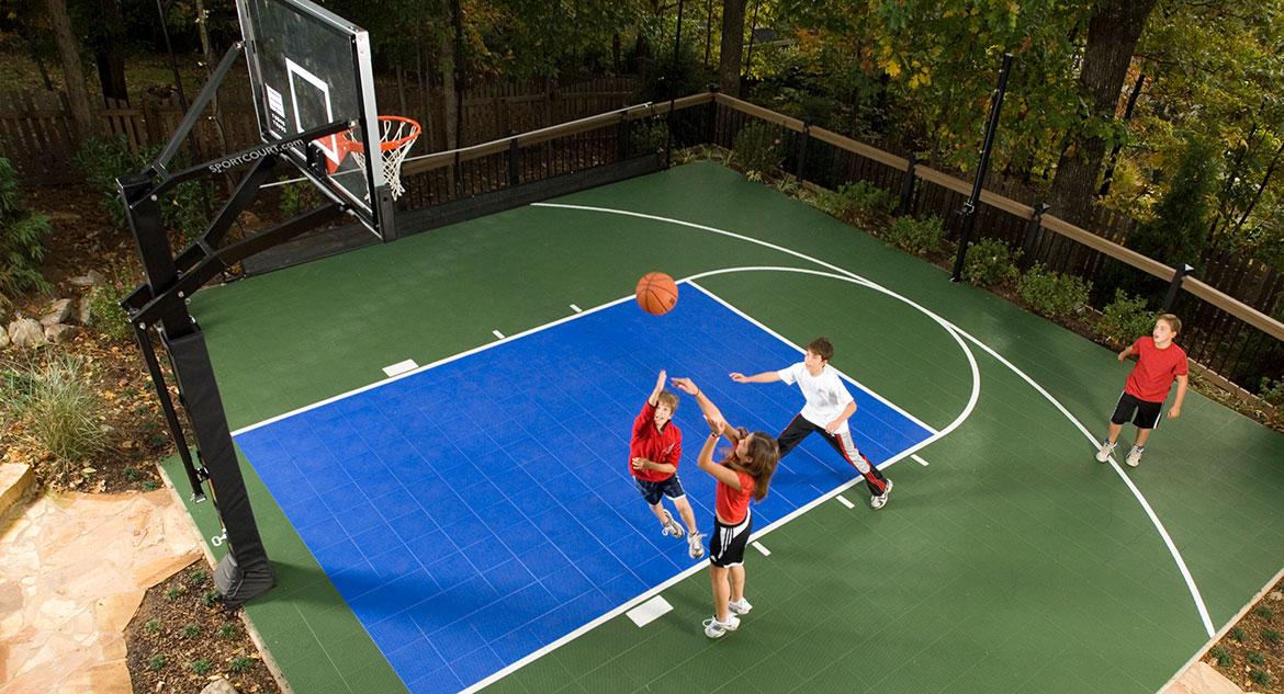 Sport court building tips mid atlantic sport court mid for How to build your own basketball court