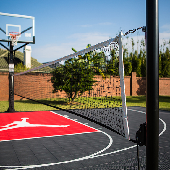 Athletic surfaces and accessories for utah idaho and for Backyard multi sport court
