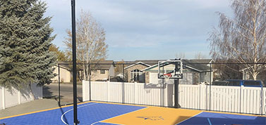 Customized Basketball Court Builders