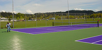 Sport Court with Maple Select
