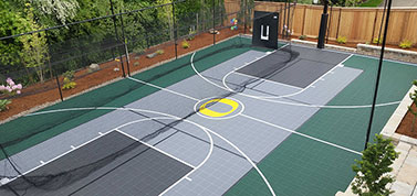 customized Sport Court flooring
