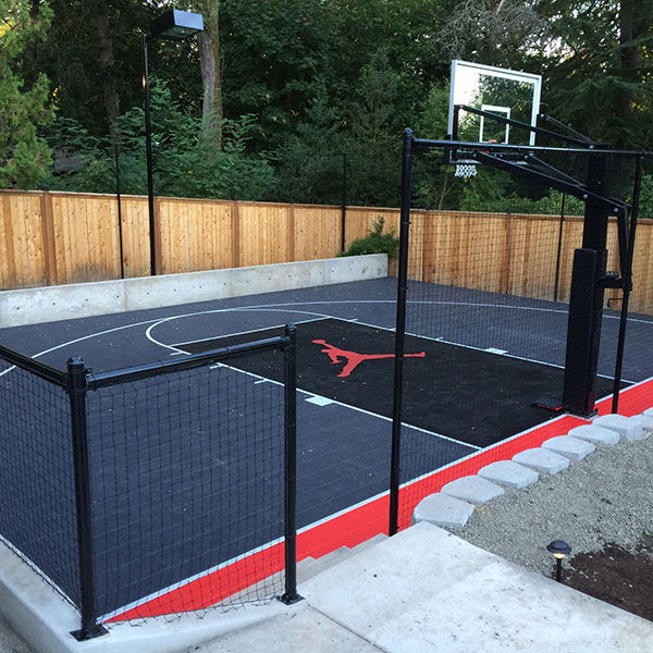 Outdoor Jordan Sport Court