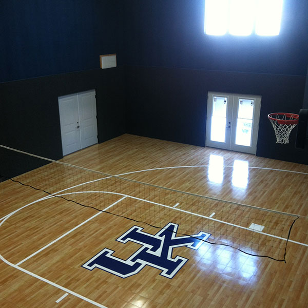 Basketball Flooring- Perfect Gym Flooring or Home Basketball Court Flooring