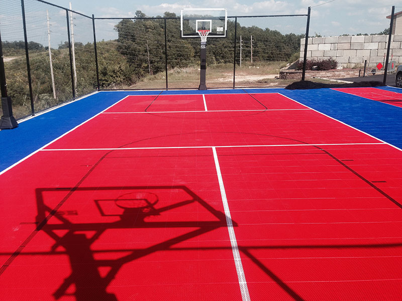 Outdoor Backyard-court Basketball Sport Family