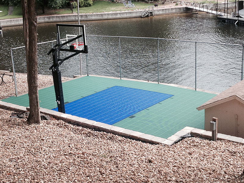 Backyard-court Family Sport Basketball Outdoor