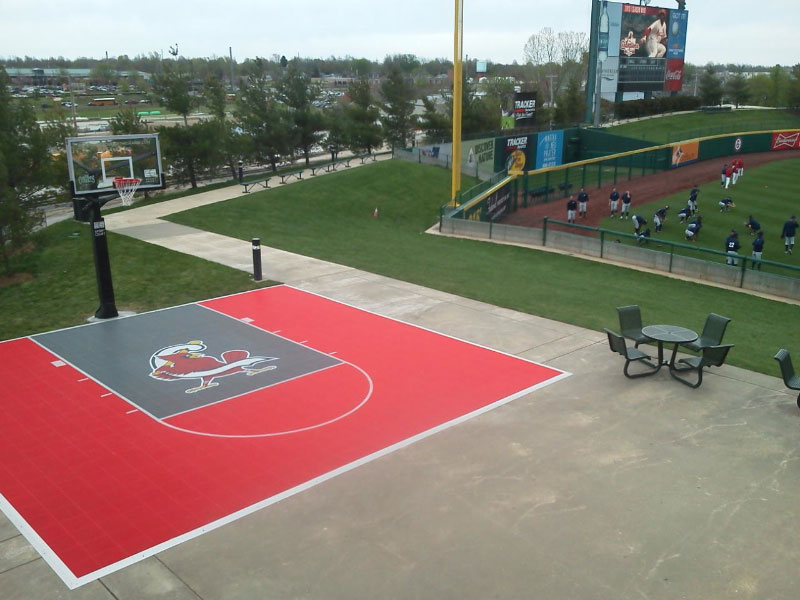Basketball Facility Sport Outdoor Parks-Rec