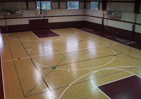 Gymnasium Indoor Facillity Sport Basketball Multi-sport Schools