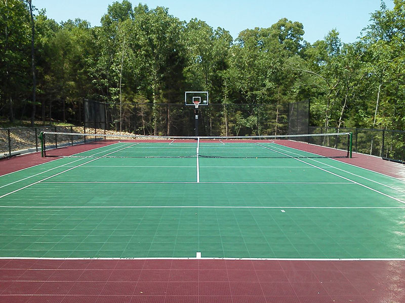 Tennis Basketball Backyard-court Family Sport