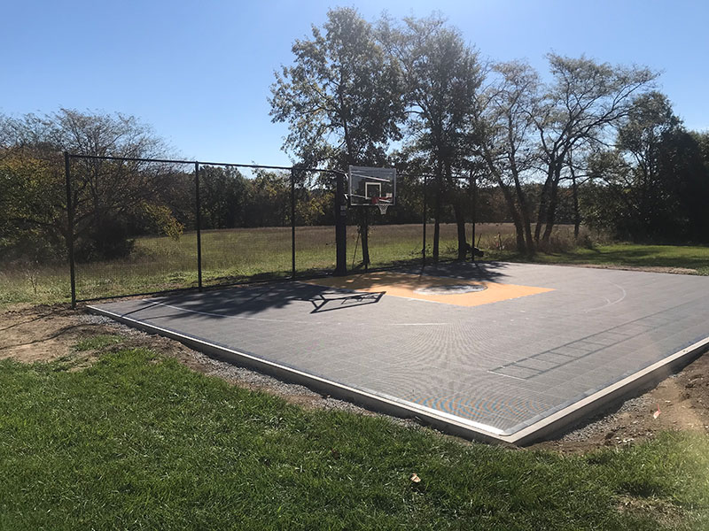 Backyard-court Family Sport Basketball