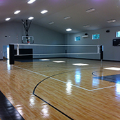 Sport Court Gym Floor and Volleyball Court