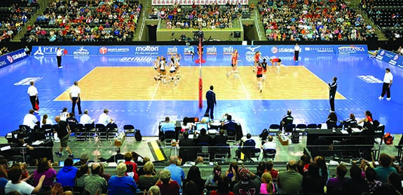 Volleyball Court Flooring - Sport Court