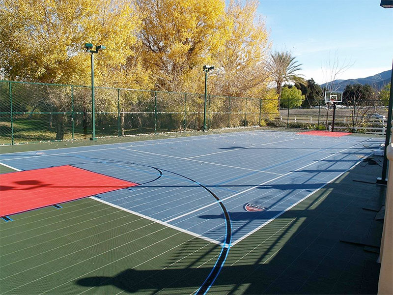Outdoor-court Facility Basketball Sport Outdoor Parks-Rec