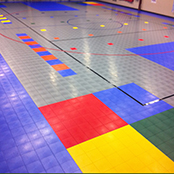 Sport Court Tiles for Facility Flooring