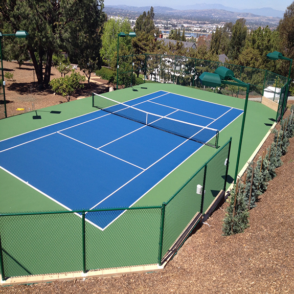 Acrylic Tennis Court Surfaces by Sport Court
