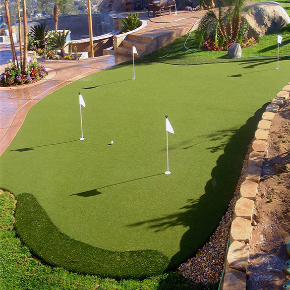 Custom Backyard Putting Green by Sport Court