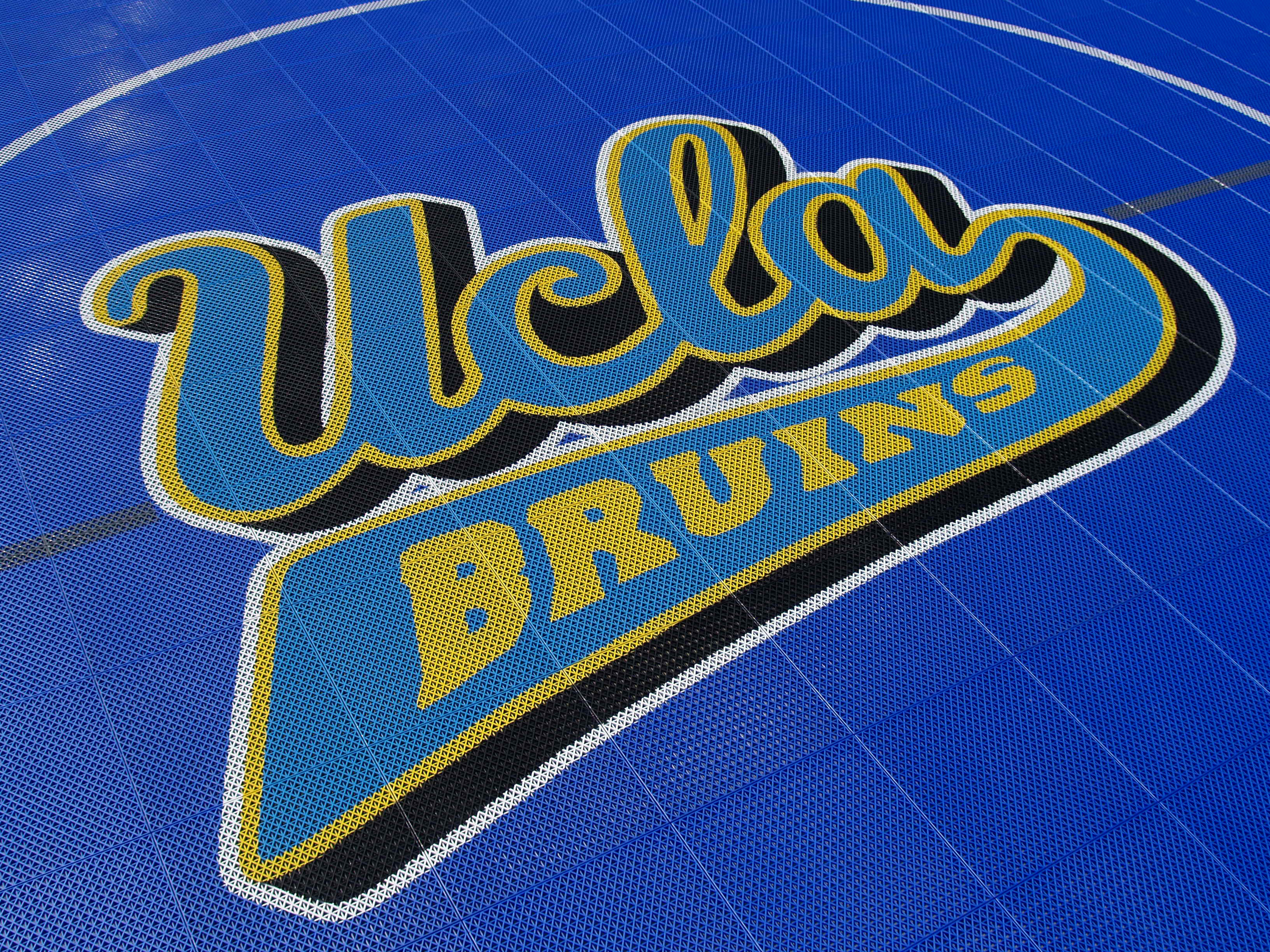 Court Builder™ Custom Logo Basketball Court