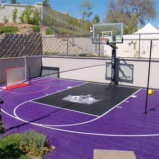 Home Basketball Court by Sport Court