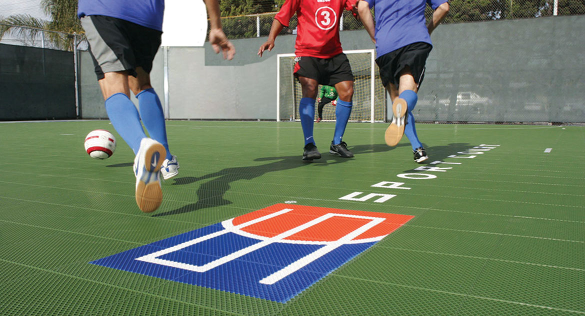 Indoor Soccer Gym Flooring - Sport Court