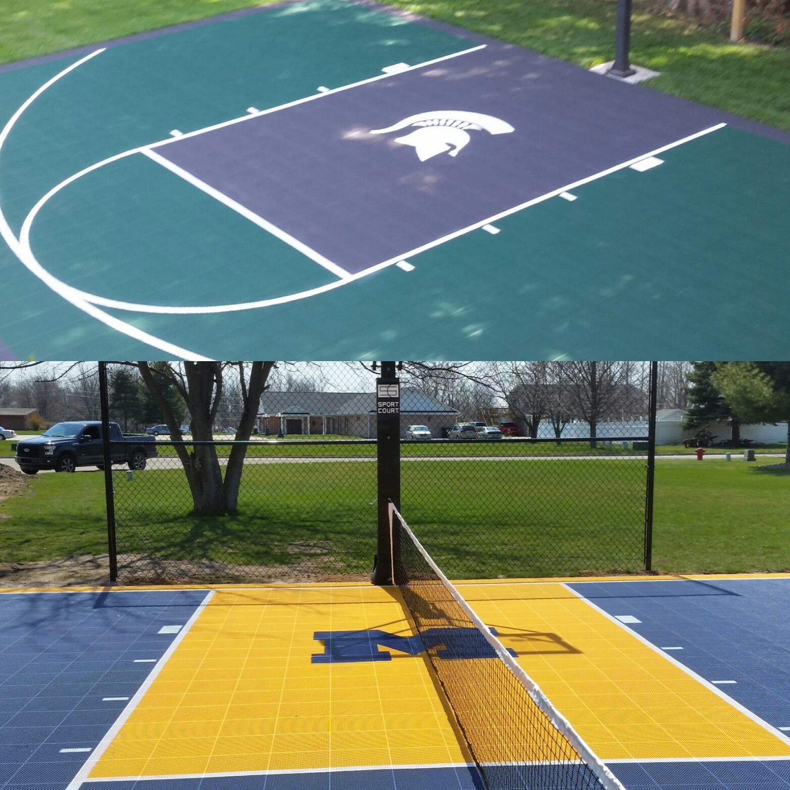 backyard courts sport court southern michigan sport court of