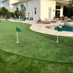 Home Putting Greens Backyard Synthetic Grass Putting