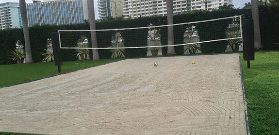 Sport Court Professional Beach Volleyball Court