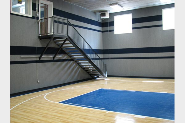 Indoor courts home gyms sport court of st louis