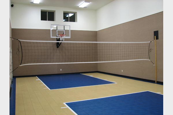 Indoor courts home gyms sport court of st louis for Indoor sports court
