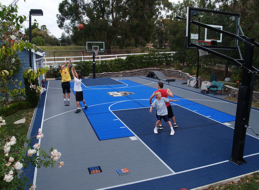 10 game court building tips sport court of st louis for Backyard sport court ideas