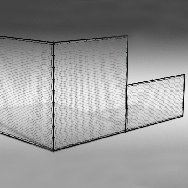sport court ball containment netting