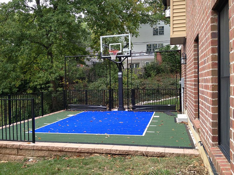 Sport court pictures sport court design build a sport for Build a basketball court