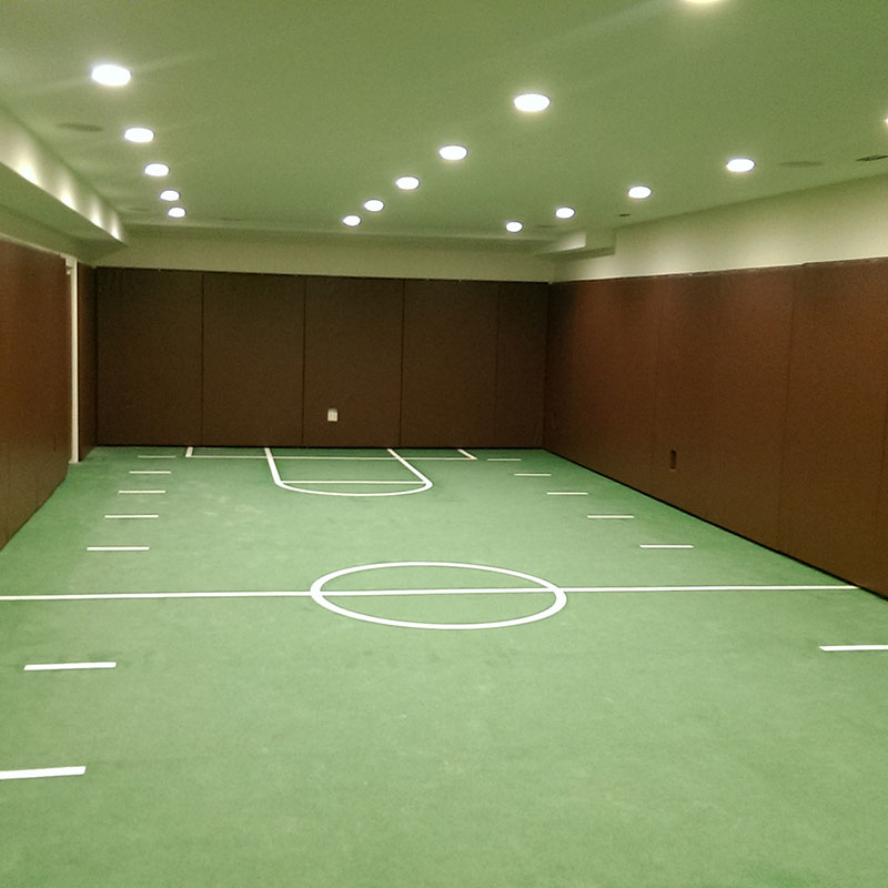 family playroom with everlast rubber sports flooring