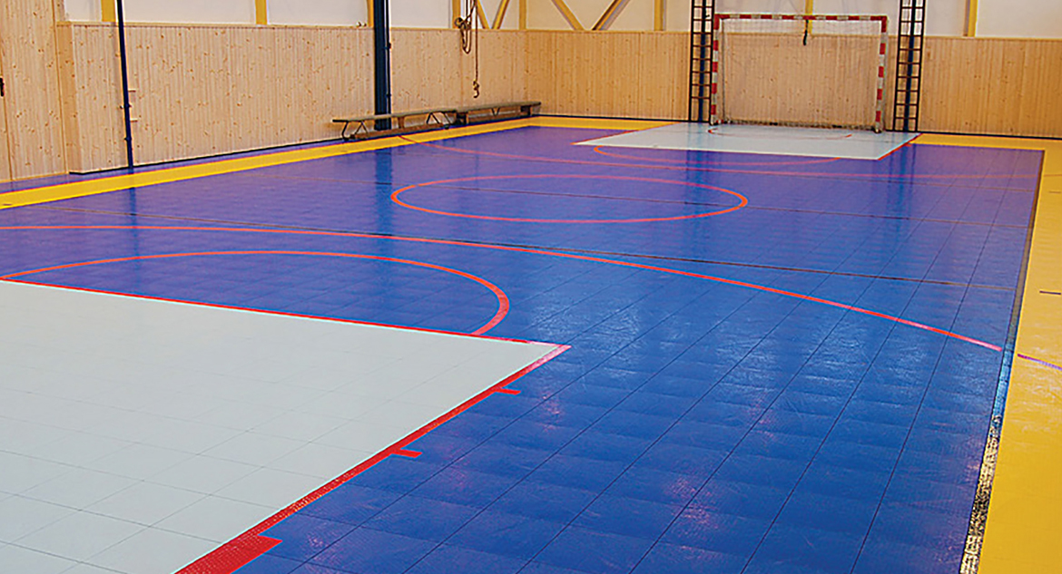 Defense Flooring from Sport Court St. Louis