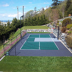 backyard multi-sport court