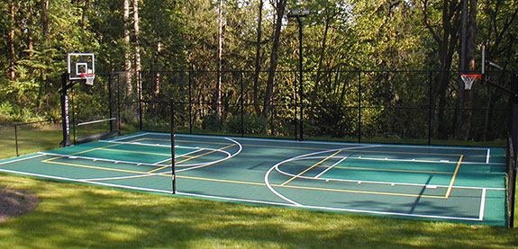 backyard full-court