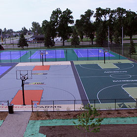 Sport Court Basketball