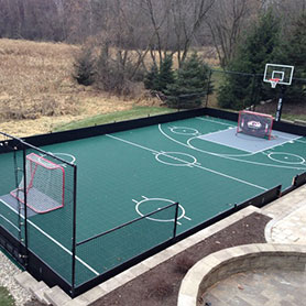 Backyard Multi Sport Court Backyard Multi Sport Court ...