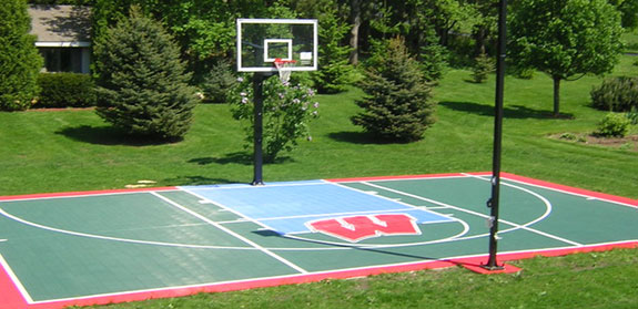 ... Backyard Multi Sport Court