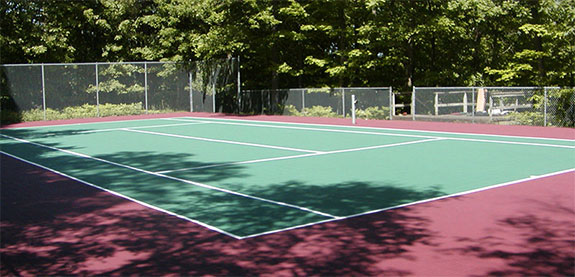 ... Tennis Tennis Court Flooring