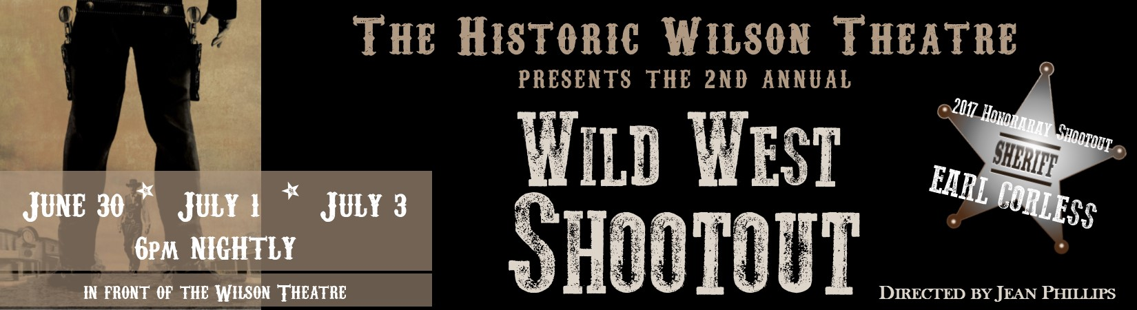 June 30, July 1 & 3 - Wild West Shootout
