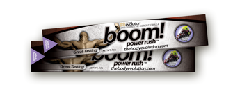 Gushing Grape BOOM Power Rush Protein
