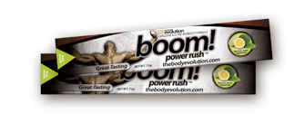 Lemon Lime Squeeze BOOM Power Rush Protein