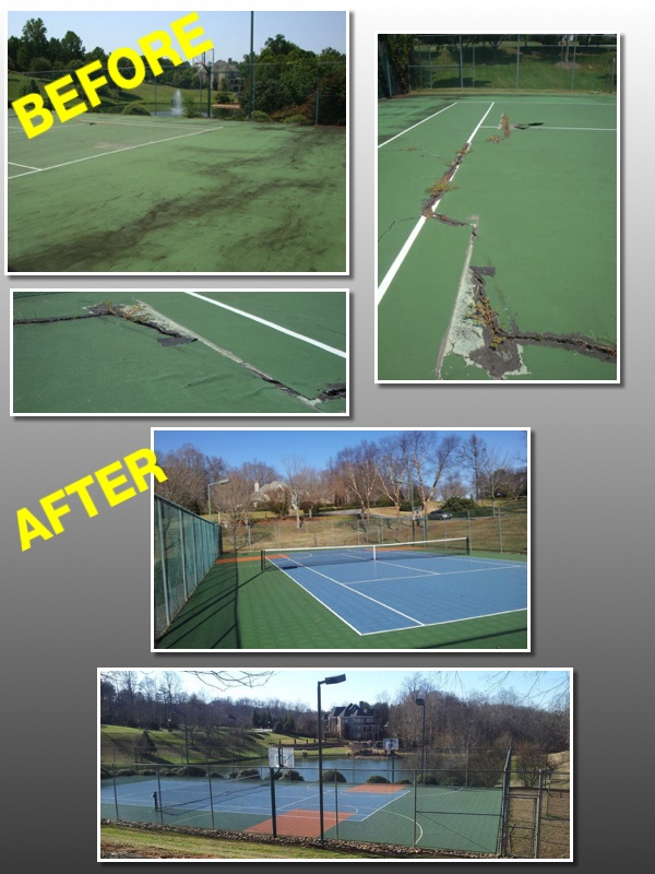 Sport Court Southern California Tennis Court Resurfacing