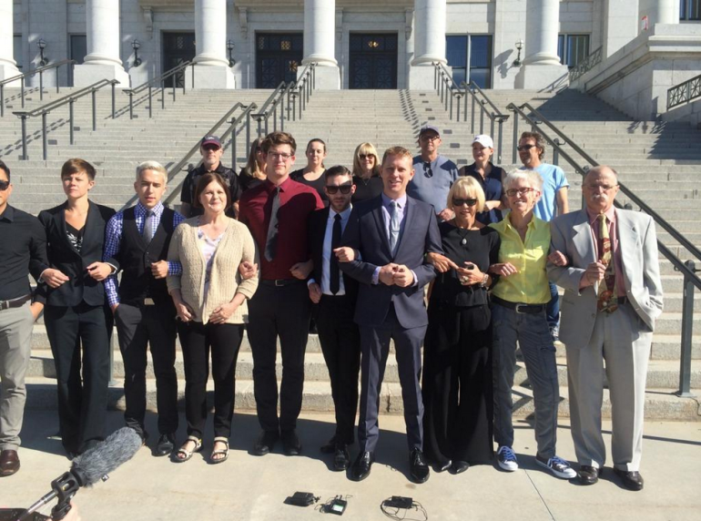 Fox 13 News 'Capitol 13′ strike plea deals over gay rights protest at the legislature