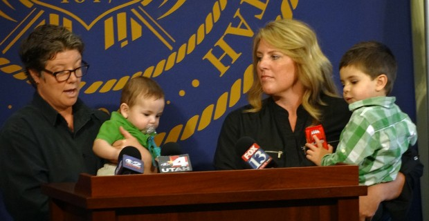 Featured in Q Salt Lake's Utah Attorney General steps into private adoption cases of legally married same-sex couples