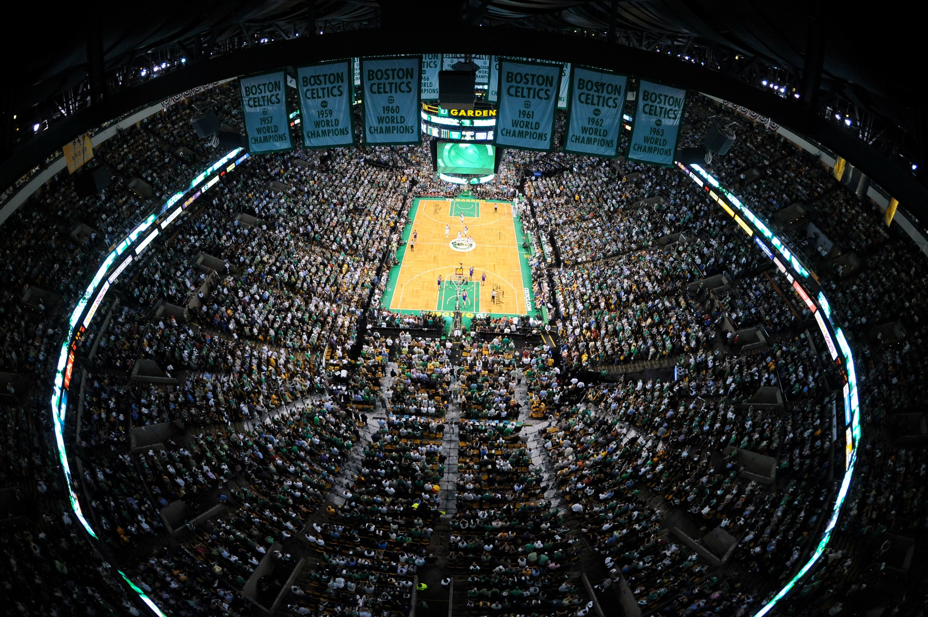 Building on hallowed ground the boston celtics new for Building a basketball court
