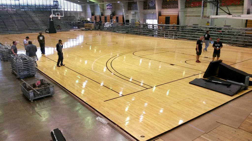 Connor sports flooring manufacturing mill gurus floor for Custom basketball court cost
